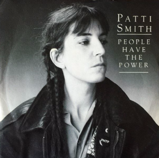 "Patti Smith - People Have The Power (7"") (EX/VG)"